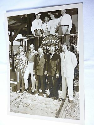 Rare HADACOL Photo with JACK DEMPSEY, DUDLEY LeBLANC, CESAR ROMERO, RUDY VALLEE