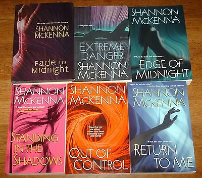 6 Shannon McKenna Out of Control-Return to Me-Standing in the Shadows-Extreme Da