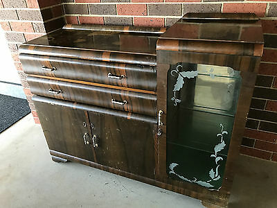 ANTIQUE BUFFET SIDEBOARD RETRO 1930's / 40's