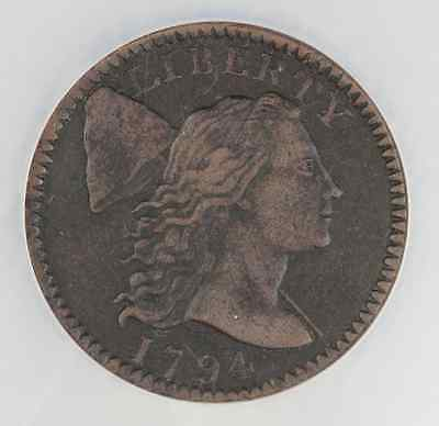 1794--- Liberty Cap  Large Cent--- XF Details NGC--- Great Coin