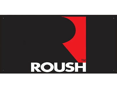 Advertising Display Banner for Roush Sales Service Parts