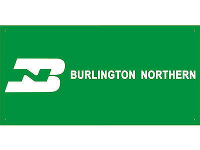 Advertising Display Banner for BURLINGTON NORTHERN BNSF