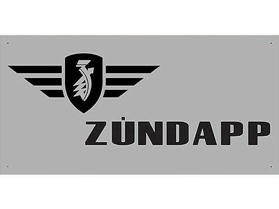 Advertising Display Banner for Zundapp Sales Service Parts