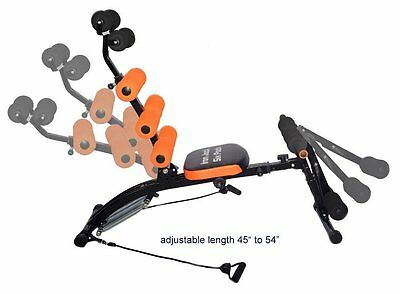 Six pack Ab core Iron Jack Legs Biceps Triceps Arms & Fitness Exercise Workout