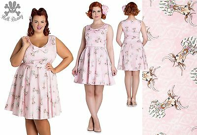 d746301875ef Hell Bunny Deery Me Mini Rockabilly Pinup Swing Vintage Dress 2XL-4XL