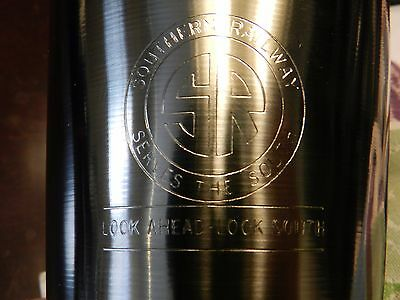 Southern Railway Serves The South Look Ahead Look South Railroad Stainless Cup