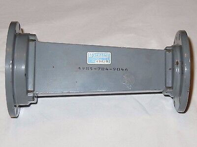 Waveline 494-B Waveguide Transition WR137 to WR187 NSN 5985-784-9046