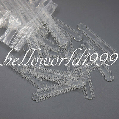 Dental Orthodontics Elastic Elastomeric Clear Color Ligature Ties 1008 Pcs Ring