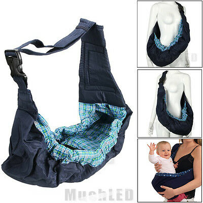 Adjustable Carrier Sling Wrap Rider Backpack Pouch Ring for Newborn Baby Infant