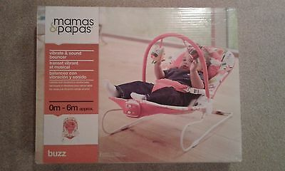 Mamas & Papas Baby Bouncer / Bouncing Chair. Vibrates And Plays Music.