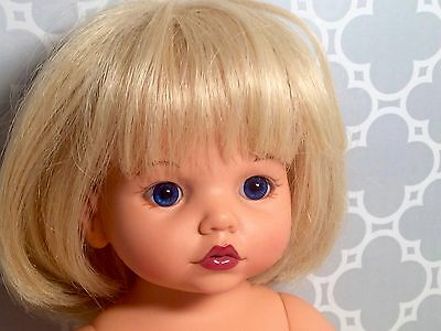 """14"""" Baby So Beautiful Doll by Playmates Blonde Hair Blue Eyes"""