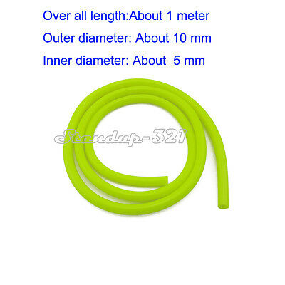 Yellow 5mm ID Motorcycle Fuel Hose Line For Pit Dirt Bike ATV Quad Go Kart Buggy