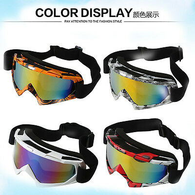 Adult Dirt Bike Gear-MX Motocross Moto X Goggles*anti-fog*UV protection*Tinted*
