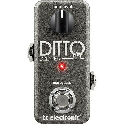 TC Electronic Ditto Looper Guitar Pedal. Delivery is Free