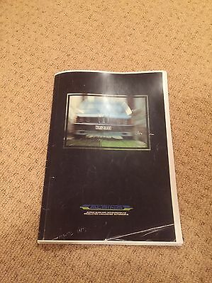 BMW ALPINA Parts Catalogue From The 1980s Very Rare