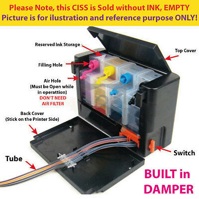 Empty DIY Continue Ink System CIS CISS for Canon PG245 CL246 MG2922 MG2924 MX492