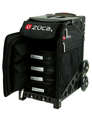 Cheap Zuca Sport Artist on Black Frame, makeup bag, beauty therapy, hair stylist