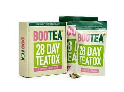Bootea 28 Day Tea Tox Weight Management Get Fit Shredded Natural Ingredients