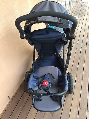 Phils And Ted Baby Jogger Double 3 Wheel pram