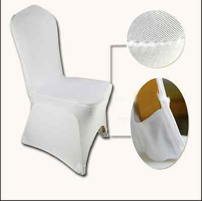 Housse chaise noeuds Mariage promo satin organza mariage blanc