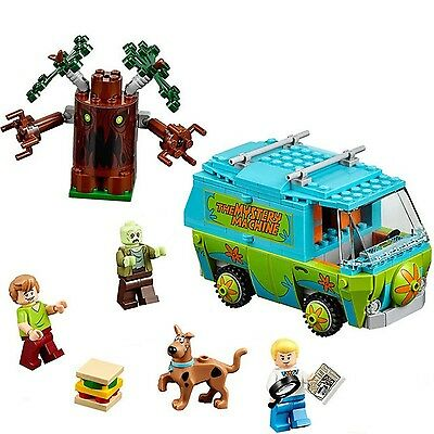 New Scooby Doo Mystery Machine Bus Building Block #10430 Fit lego 305PC3