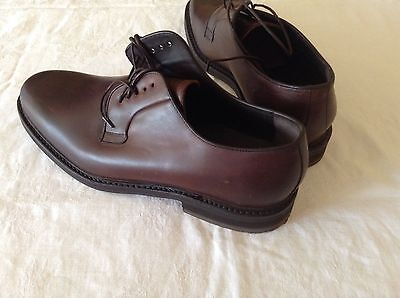 Mens Brown leather Berwick 1707 Goodyear Welted  Shoes - Size 12