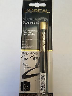 Super Liner - Smokissime - 100 Black Smoke - L'Oreal