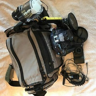 Sea and Sea Underwater camera and housing plus many extras