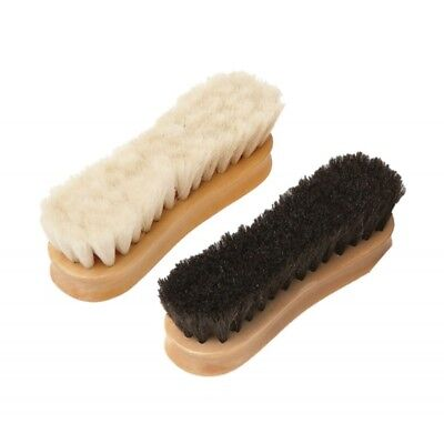 Equerry Wooden Face Brush - Goat Hair