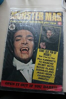 MONSTER MAG - No.7 - ORIGINAL ISSUE - VERY RARE - HAMMER HORROR