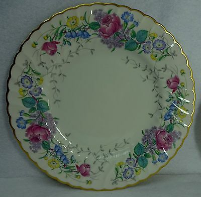 SYRACUSE china LILAC ROSE pattern Dinner Plate - 10-3/8""