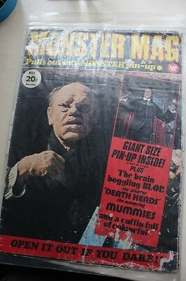 MONSTER MAG - No.5 - ORIGINAL ISSUE - VERY RARE - HAMMER HORROR