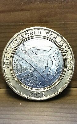 Two Pounds coin (The First World War)