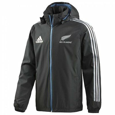 New Zealand All Blacks 2014/15 All Weather Rugby Jacket - XL