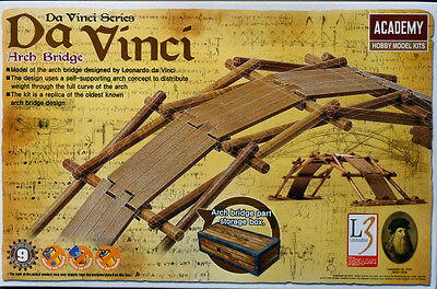 Academy Da Vinci Series Kit Ponte Ad Arco Arch Bridge 14+  Art 18153