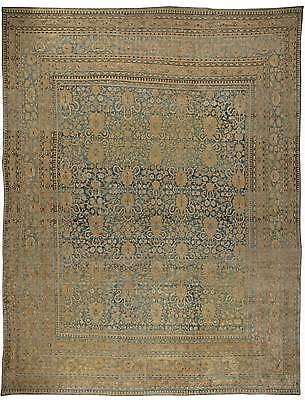 Oversized Persian Meshad Antique Rug BB5875