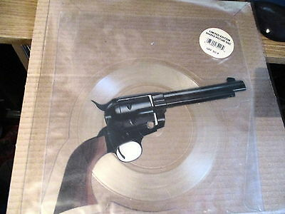 """Guns N Roses 7"""" Vinyl Record-Picture Disc Record-Shaped-Paradise City-Sticker"""