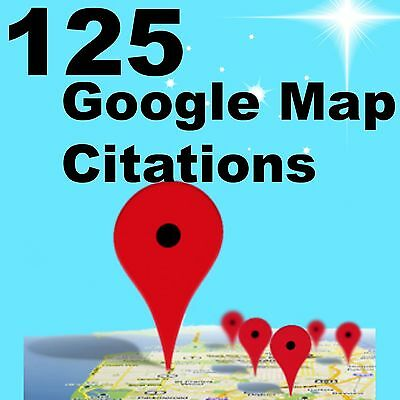 125 Google Map Citations GET TRAFFIC & SALES Increase LOCAL SEO Google Ranking