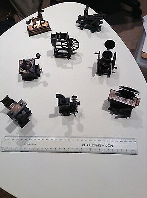 UNUSUAL VINTAGE COLLECTABLE PENCIL SHARPENERS x 8