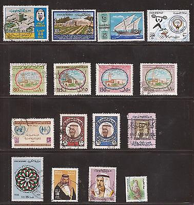 Kuwait   -  Lot Of Stamps