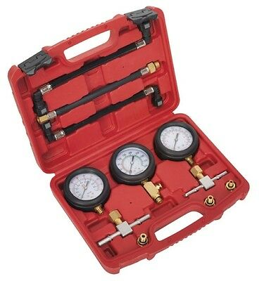 Clearance!  Motorcycle Motorbike Compression Fuel Pressure Gauge Tester Tool