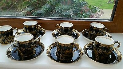 Crown Staffordshire coffee tea set