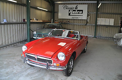 1972 Chrome Bumper Mg Mgb Roadster