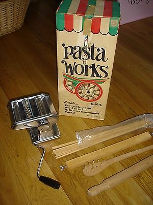Hismark Pasta Works Drying Rack, Fork, Rolling Pin