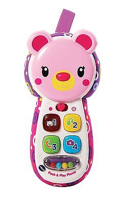 Vtech Pink Peek and Play Pink Phone