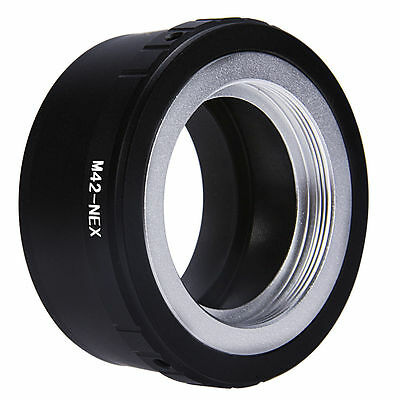 Mount Adapter for M42 Screw Lens To Sony E NEX-7 NEX-5 NEX-3 NEX-F3 NEX-5R DC108