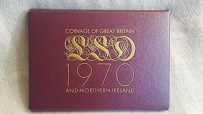 1970 Coinage of Great Britain.