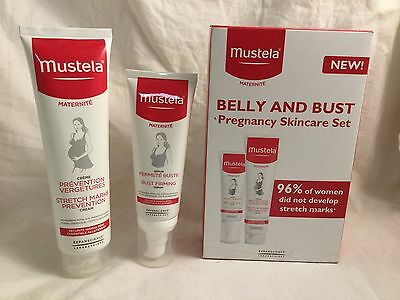 Mustela Belly & Bust Pregnancy Skincare Set *Brand New*
