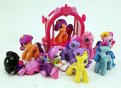 My Little Pony MLP Ponyville Lot Figures Accessories