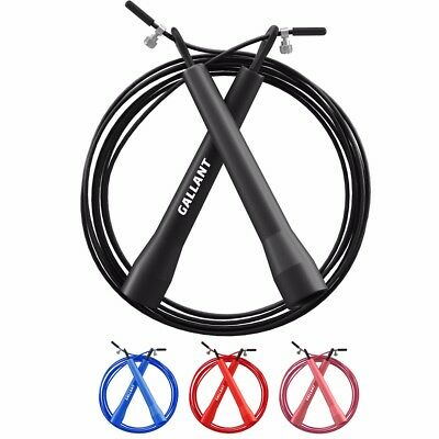 Gallant Adjustable Steel Skipping Rope Fitness Boxing Crossfit Exercise Workout